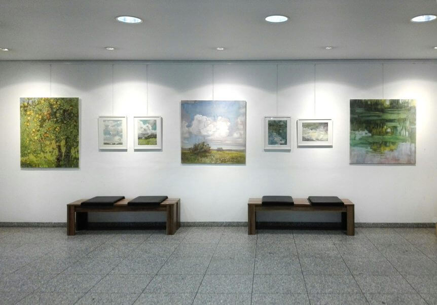 Ausstellung Tanja Leodolter Wertachkinik Bobingen 2019